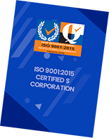 ISO 9001:2015 Certified Corporation