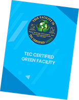 TEC Certified Green<br>Facility